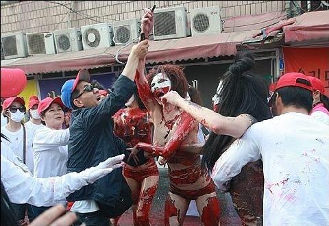 韓国売春婦デモ : 目覚めた ...