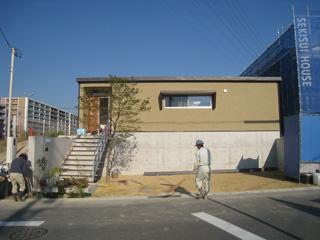 「平子山の家」植栽工事_b0179213_2018399.jpg