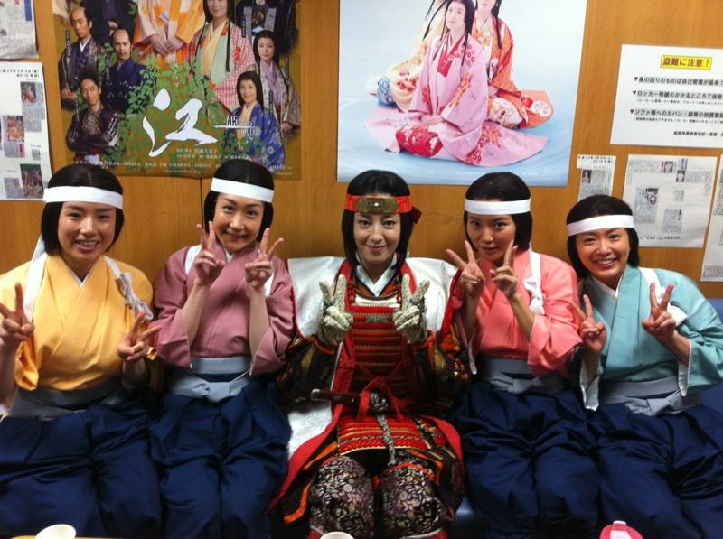 NHK大河ドラマ『江』に今週、来週は出ますっ!_f0132234_17214133.jpg