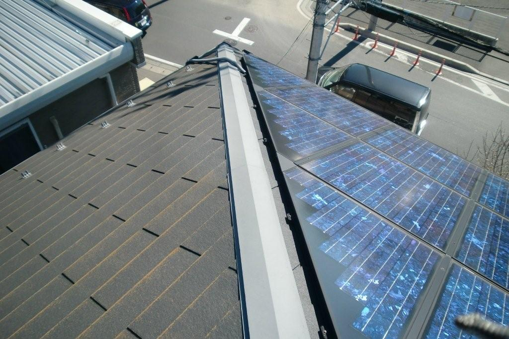 SHARPの太陽光発電システムを取り付けたお客様から塗り替えのご依頼(神奈川県相模原市)_e0207151_1746453.jpg