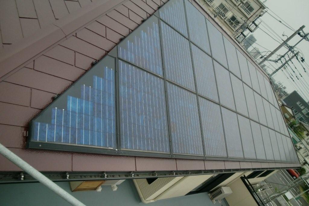 SHARPの太陽光発電システムを取り付けたお客様から塗り替えのご依頼(神奈川県相模原市)_e0207151_17482677.jpg