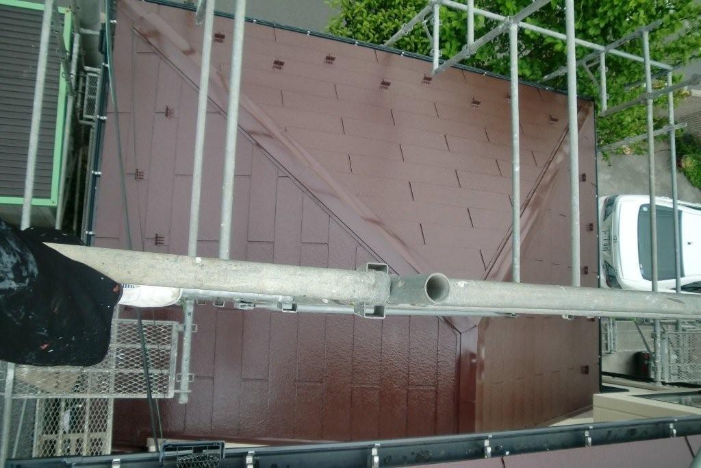 SHARPの太陽光発電システムを取り付けたお客様から塗り替えのご依頼(神奈川県相模原市)_e0207151_17483885.jpg