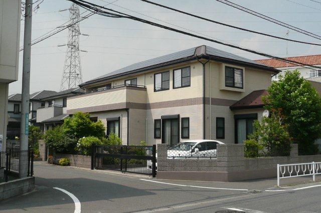 SHARPの太陽光発電システムを取り付けたお客様から塗り替えのご依頼(神奈川県相模原市)_e0207151_1749378.jpg
