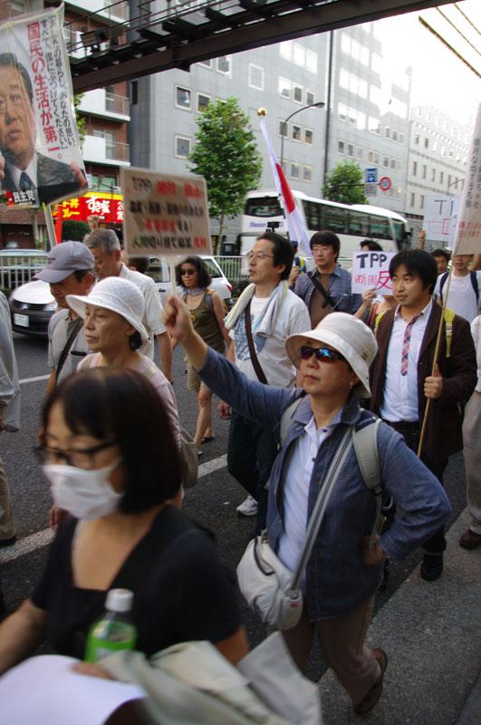 10・16 新宿TPP拒否国民デモ - 2011.10.16_a0222059_114249.jpg