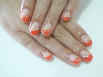 Pickup Nail~Orange_a0239065_14375587.jpg