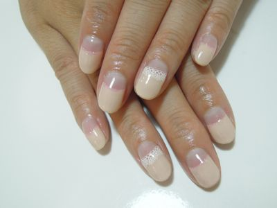 Beige French Nail_a0239065_19445459.jpg