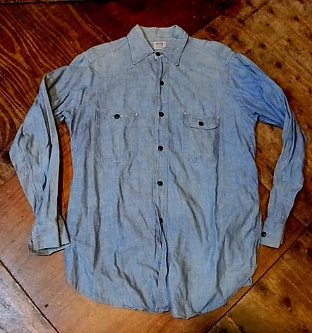 10/29(土)入荷! 40-50\'S ROOMY RICHARD シャンブレーシャツ!_c0144020_1471633.jpg