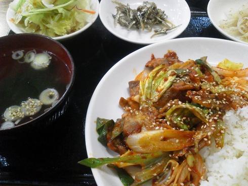 韓国料理でランチ@ソウル村_e0219520_12545444.jpg