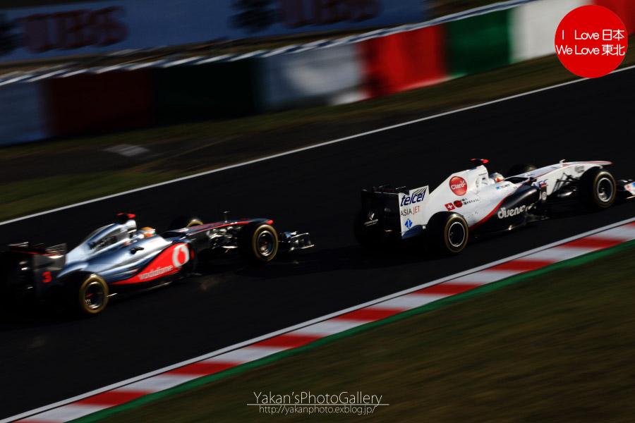 2011 F1日本グランプリ in 鈴鹿 写真撮影記 14 小林可夢偉&マッド・クロックキャンギャル編_b0157849_22152425.jpg