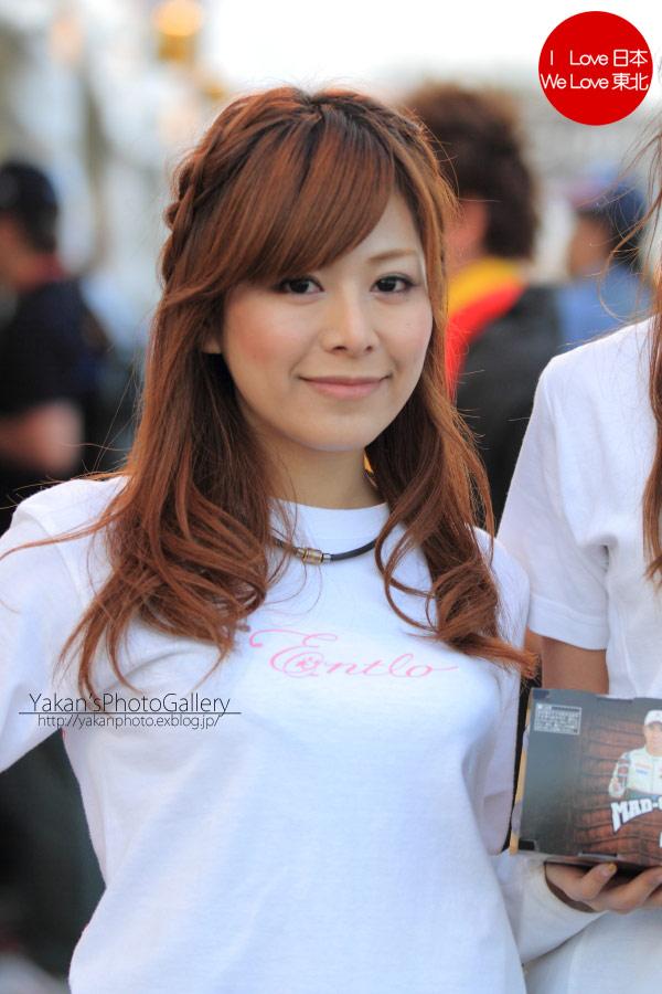 2011 F1日本グランプリ in 鈴鹿 写真撮影記 14 小林可夢偉&マッド・クロックキャンギャル編_b0157849_23255760.jpg