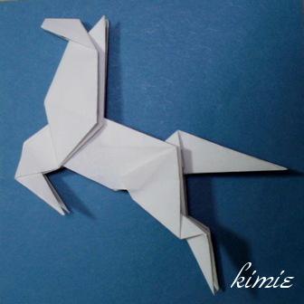 簡単 折り紙 折り紙 馬 折り方 : origaosiba.exblog.jp