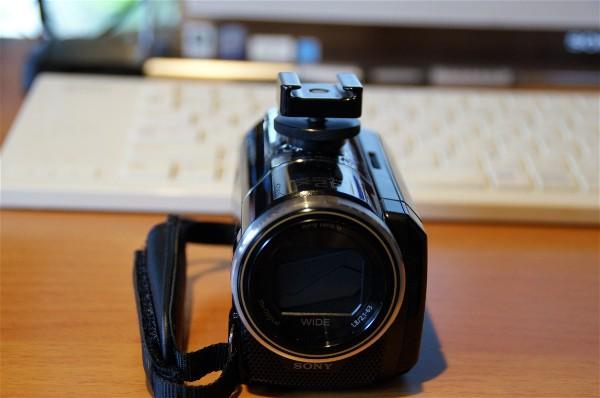 ビデオカメラにマイクを取り付け_e0166355_14193377.jpg