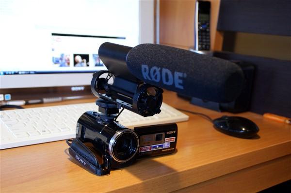 ビデオカメラにマイクを取り付け_e0166355_14194529.jpg