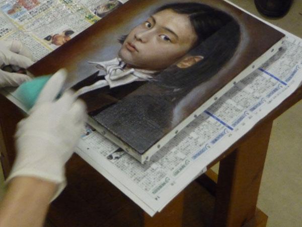 """古吉弘の""""古典的描法による人物画講座""""レポート6_b0107314_15525758.jpg"""