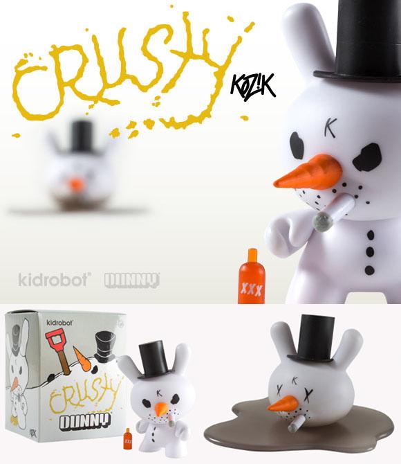 11月3日より発売、祝・クリスマスのCrusty 3-inch Dunny。_a0077842_1848923.jpg
