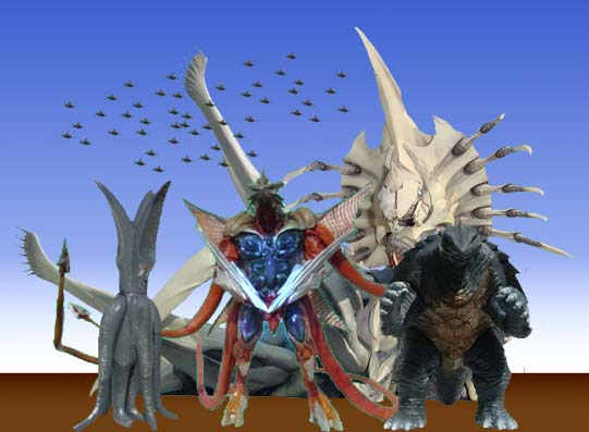 怪獣記念写真~ガメラ怪獣編~_d0188338_16231379.jpg