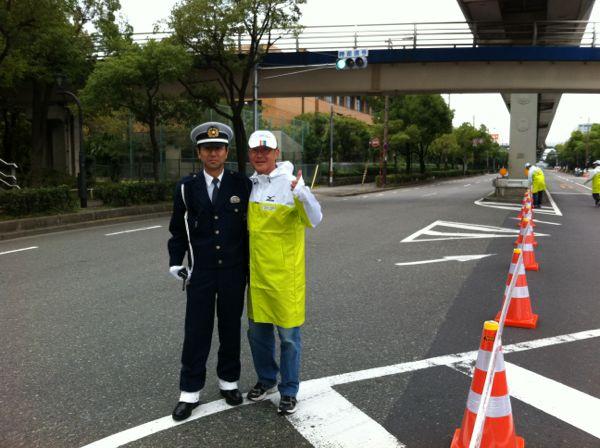 大阪マラソンはボランテイア_f0135575_2233699.jpg