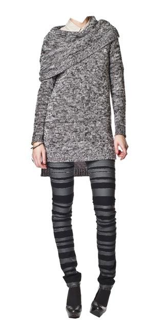 Cheap Monday Zapphira Sweater Charcoal_f0111683_12461937.jpg