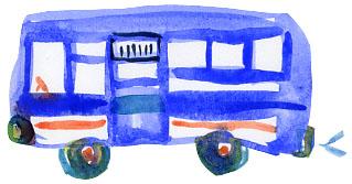 「虹色バス」_a0163788_975257.jpg