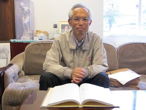 小野 光弘元教授が来訪_c0075701_17183284.jpg