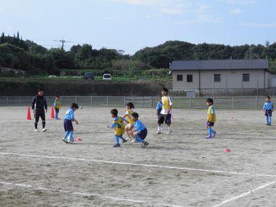 10月のサッカー教室_c0218303_1633100.jpg
