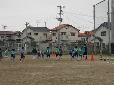 10月のサッカー教室_c0218303_1674969.jpg