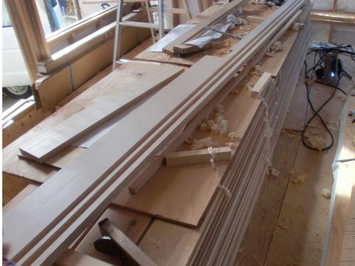 M邸 木製建具枠 加工_e0240310_21473797.jpg