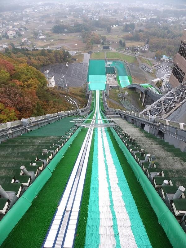 長野オリンピック 白馬ジャンプ台_f0050534_7433552.jpg