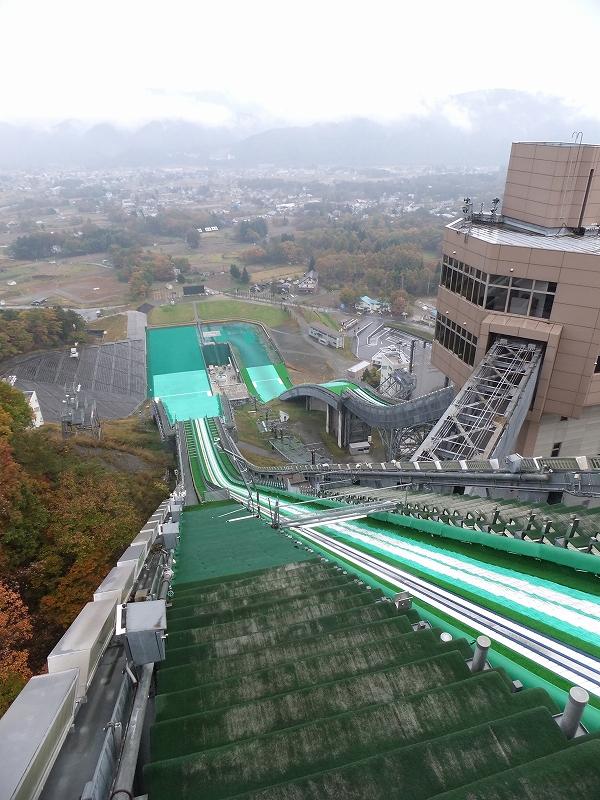 長野オリンピック 白馬ジャンプ台_f0050534_7434854.jpg