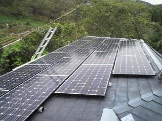 太陽光発電 SANYO HIT 5.52KW(東京都八王子市)_e0207151_12413992.jpg
