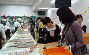 中村調理製菓専門学校の中村祭に家族で行ってきました。楽しく、美味しく、充実した一日でした♪_d0082356_11375462.jpg