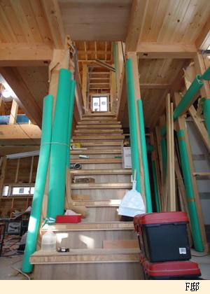 F邸(1) 階段_c0105163_20531259.jpg