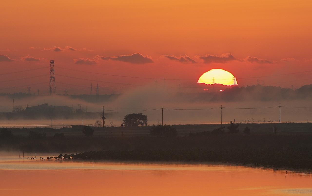 沼の夜明け 3_f0018464_20424928.jpg
