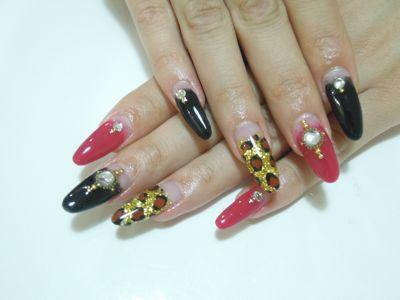 Leopard Nail_a0239065_1918365.jpg