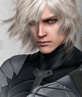 銀色の髪色がかっこいい雷電