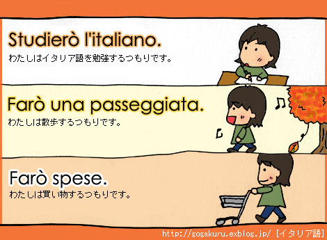 【イタリア語】-are動詞の未来形_e0132084_2114281.jpg