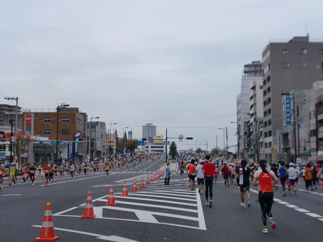 第一回 大阪マラソン 10月30日(日) RUN:42.195km_b0176192_21333932.jpg