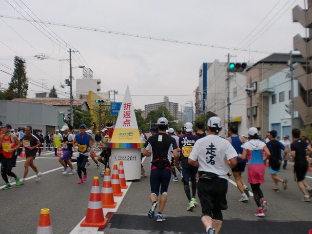 第一回 大阪マラソン 10月30日(日) RUN:42.195km_b0176192_21355896.jpg