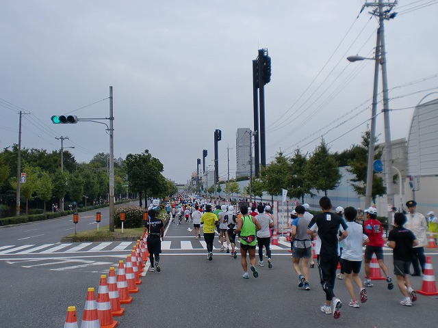 第一回 大阪マラソン 10月30日(日) RUN:42.195km_b0176192_2233434.jpg