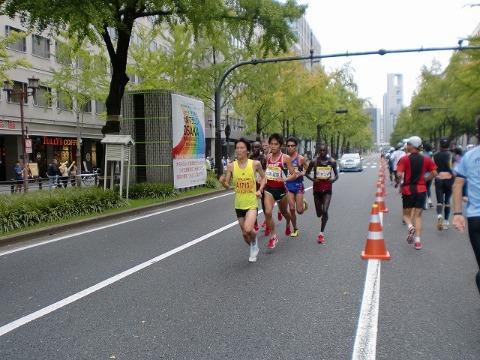 第一回 大阪マラソン 10月30日(日) RUN:42.195km_b0176192_6413145.jpg