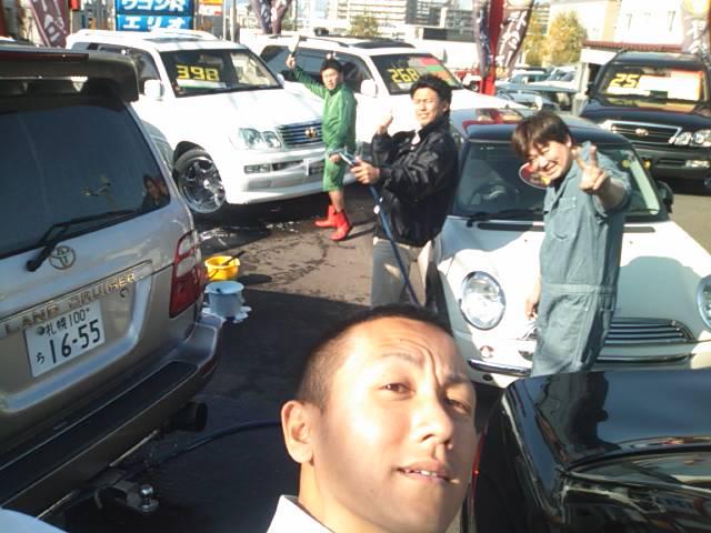 ランクル TOMMY札幌店 11月1日! 神宮参拝からスタート☆_b0127002_21563944.jpg