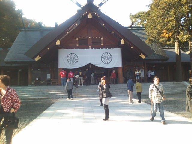 神宮参拝 ランクル札幌店_b0127002_973111.jpg