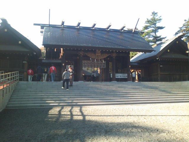 神宮参拝 ランクル札幌店_b0127002_973191.jpg
