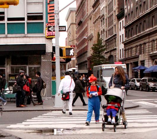 ニューヨークのハロウィン風景 かぼちゃいっぱい青空市場_b0007805_23394823.jpg