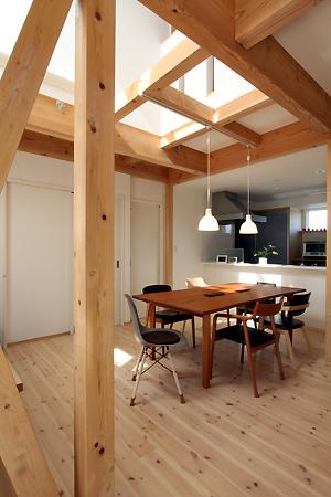 ネフ社の積み木*ウッドユーライクカンパニーのテーブル 組み上げる家_d0080906_1744147.jpg