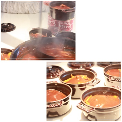 煮込みハンバーグはハインツ様のタイアップレッスン_c0141025_18293043.jpg