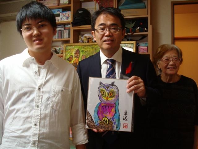 大村知事が 私を励ましてくださいました_d0253466_2361793.jpg