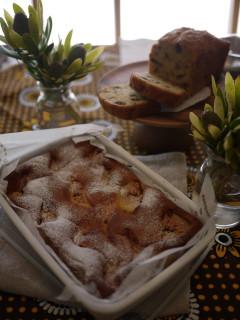 パルケ先生10月 Cake Class 「秋の果物を使った焼き菓子」_e0159185_2114048.jpg
