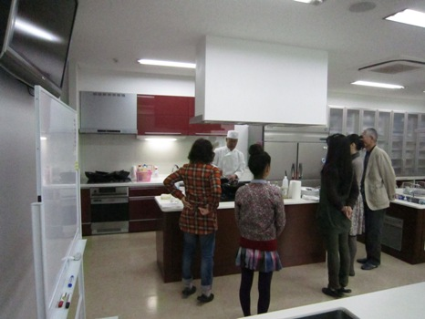 「食を愉しみ」にふれる見学会は終了しました。_f0117498_1665599.jpg