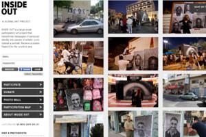 ニューヨークの街角で急増中の白黒ポートレート写真アート Inside Out Project_b0007805_11135145.jpg